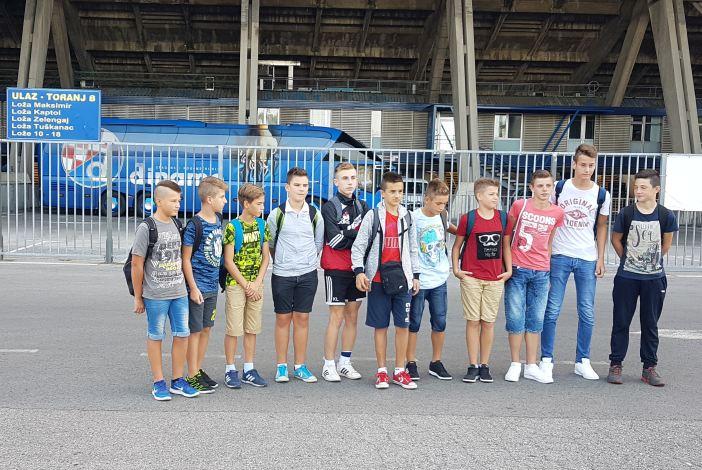 Antonio Čabraja (13) dobio Dinamovu pozivnicu