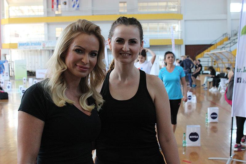 Renata Sopek i profesionalni treneri razgibavali Brođane