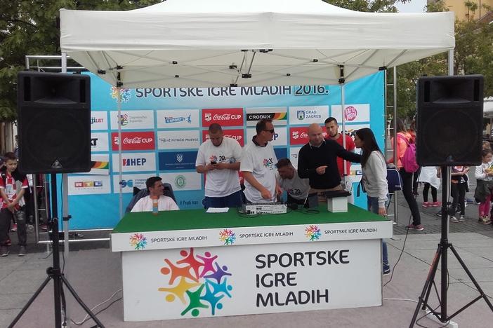 U Slavonski Brod stiže 'Turneja radosti' Sportskih igara mladih