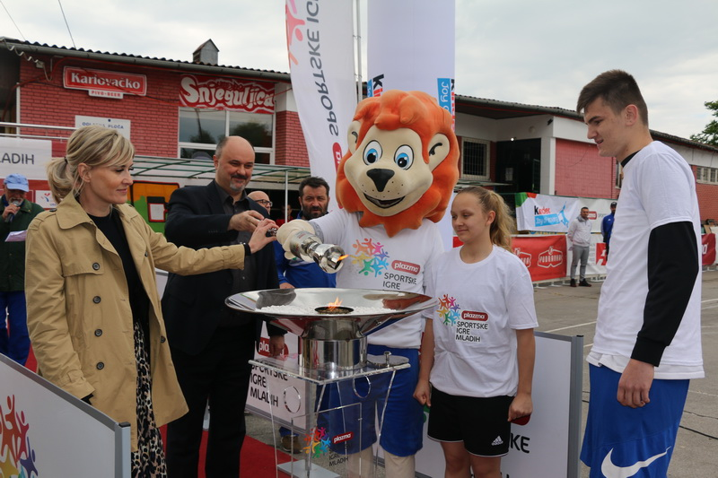 Otvorene Sportske igre mladih u Slavonskom Brodu