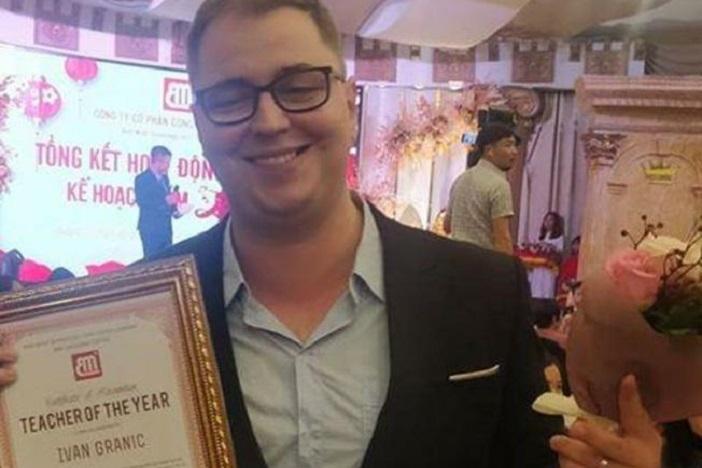 Najbolji učitelj u Vijetnamu je Ivan iz Osijeka