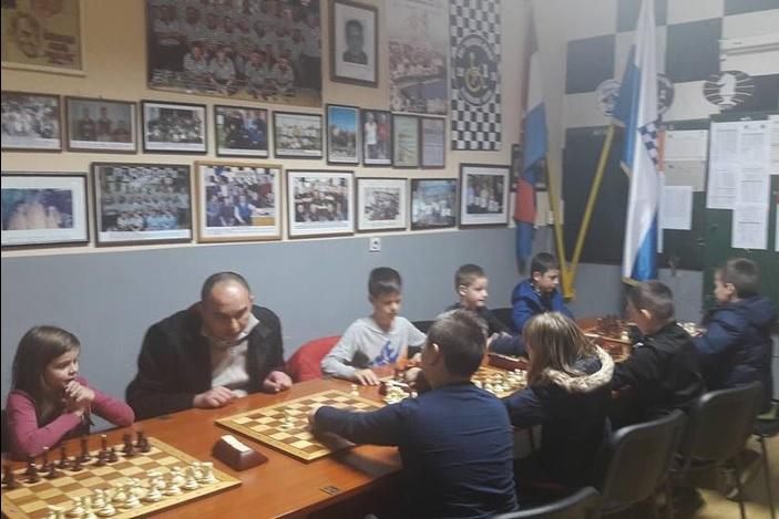 Prva škola šaha u Ruščici