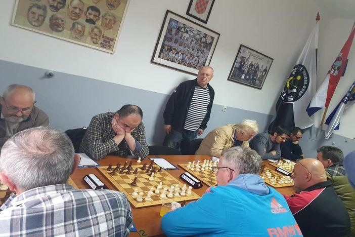 Odigrano sedmo kolo međužupanijske šahovske lige
