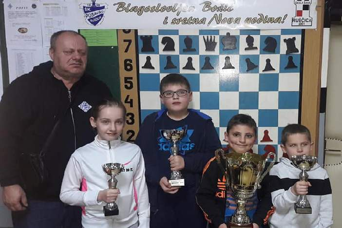 Održan Božićni turnir u šahu