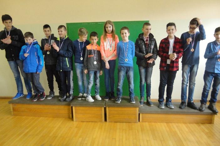 Održano šahovsko ekipno prvenstvo za osnovne škole