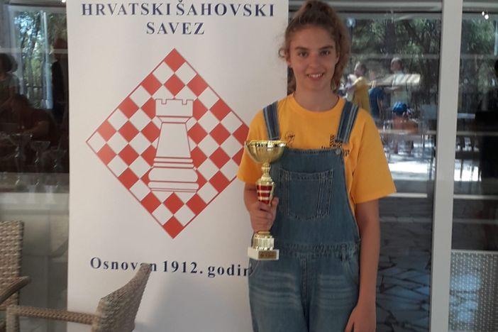 Sjajan nastup Petre Karij sa šahovskom reprezentacijom Hrvatske