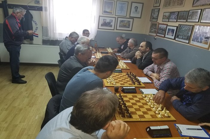 Odigrano zadnje kolo Treće  hrvatske šahovske lige