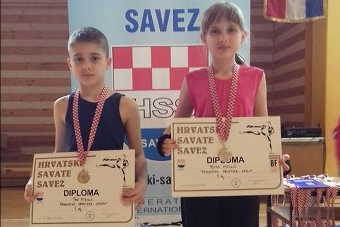 Brat i sestra, Petra i Jan, prvaci Hrvatske