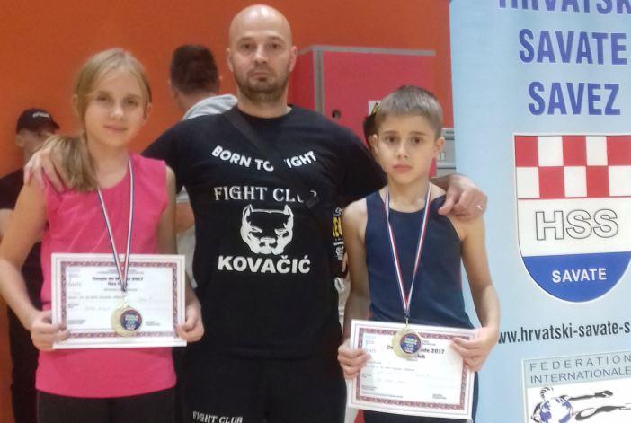 Karmen Galac, Petra i Jan Mikulić osvojili svjetski kup u Savate boksu!