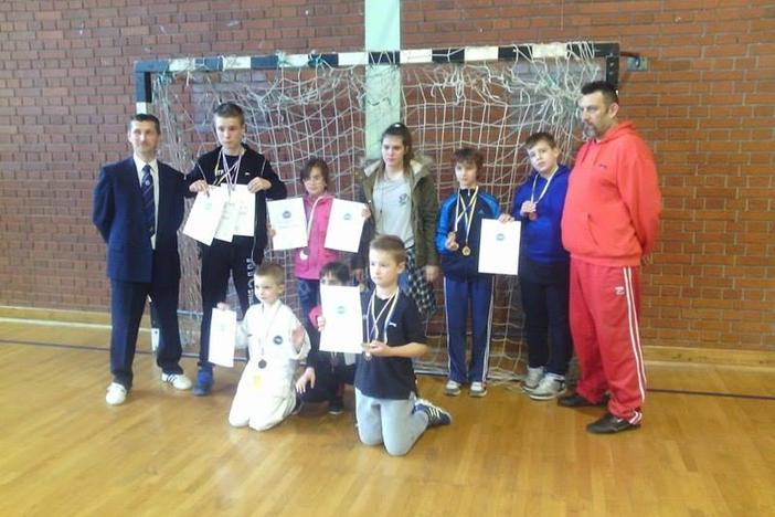 Brodski Ge-Baek odličan na 1. Međužupanijskom prvenstvu Sj. Hrvatske u taekwondou