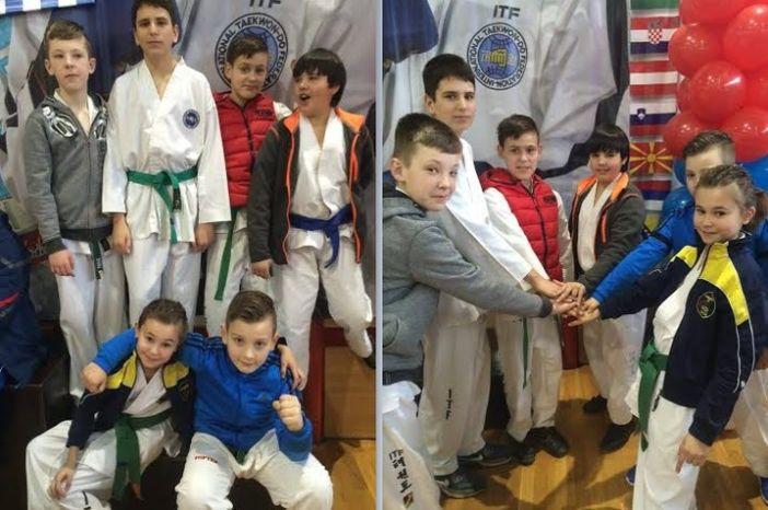 Sedam medalja za TK Alfe na jakom turniru u Prnjavoru