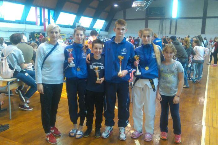 Odlični rezultati Taekwondo kluba Brod