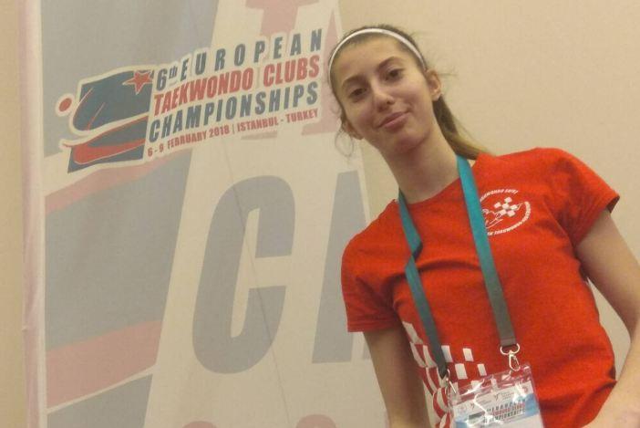 Brođanka Lucija Abramović sudjeluje u Turskoj na jakim Taekwondo turnirima