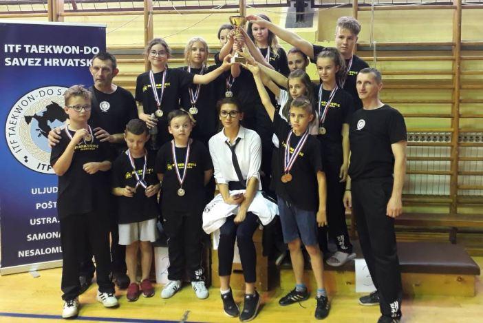 Čak 26 medalja za Ge-Baek i drugo mjesto ekipno na turniru u Županji