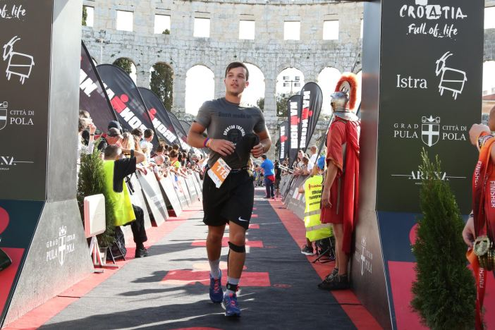 BROĐANIN Andrej Ćosić najmlađi natjecatelj ovogodišnjeg Ironman Pula 70.3