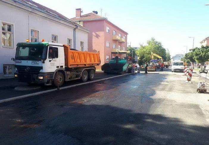 Obavijest građanima; Štampareva ulica će u petak 14. srpnja biti privremeno zatvorena za promet