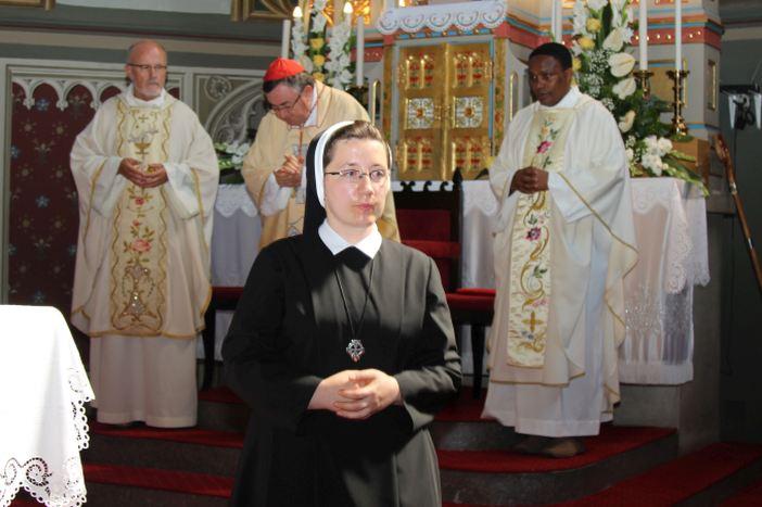 Doživotni zavjeti sestre Ivane Ćurić, redovnice Družbe Kćeri Božje Ljubavi