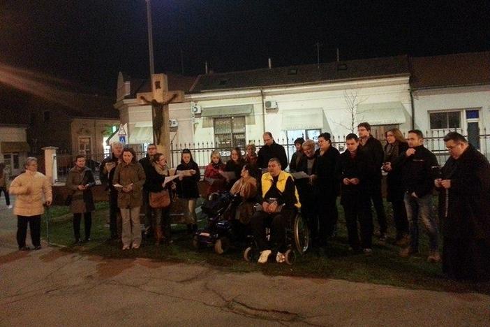 Javna molitva mladih i u Slavonskom Brodu