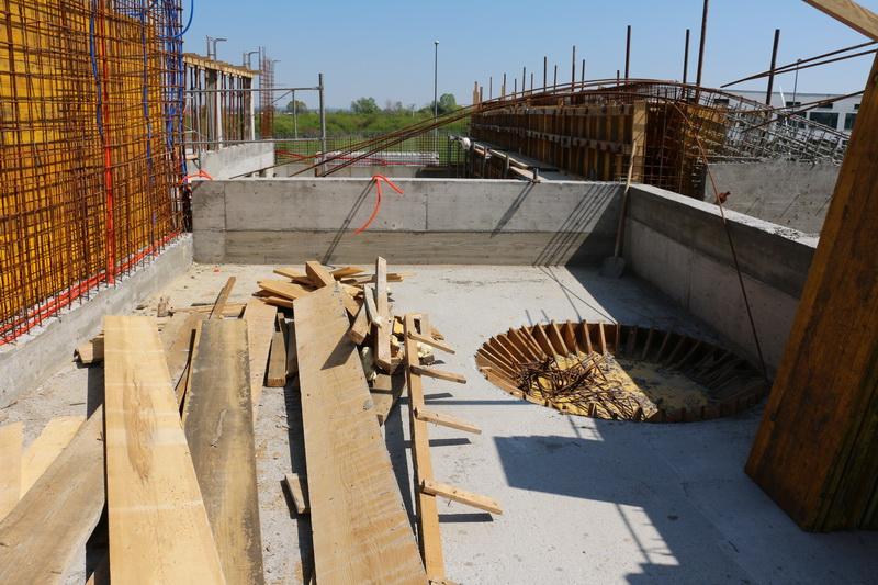 Napreduju radovi na izgradnji nove crkve Župe blaženog Alojzija Stepinca
