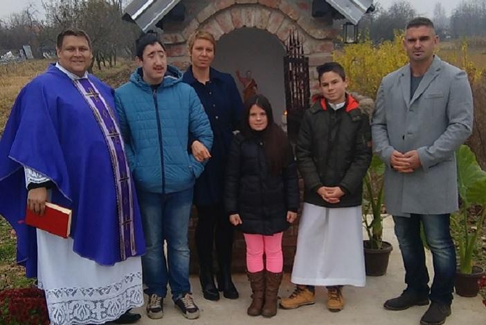 Blagoslov kapelice sv. Mateja u Svilaju
