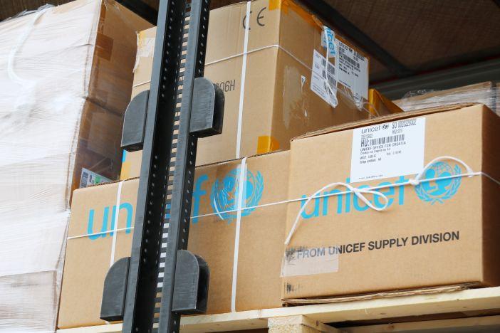 UNICEF dostavio 4 tone profesionalne zaštitne i medicinske opreme u Hrvatsku