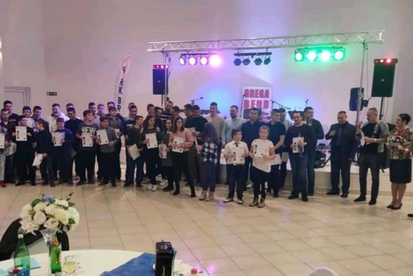 Donacijska zabava i zadnji krug 1. HRL dječaci A