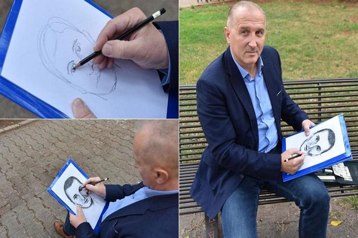 Naš Šamčanin svojim je crtežima raskrinkao mnoge kriminalce