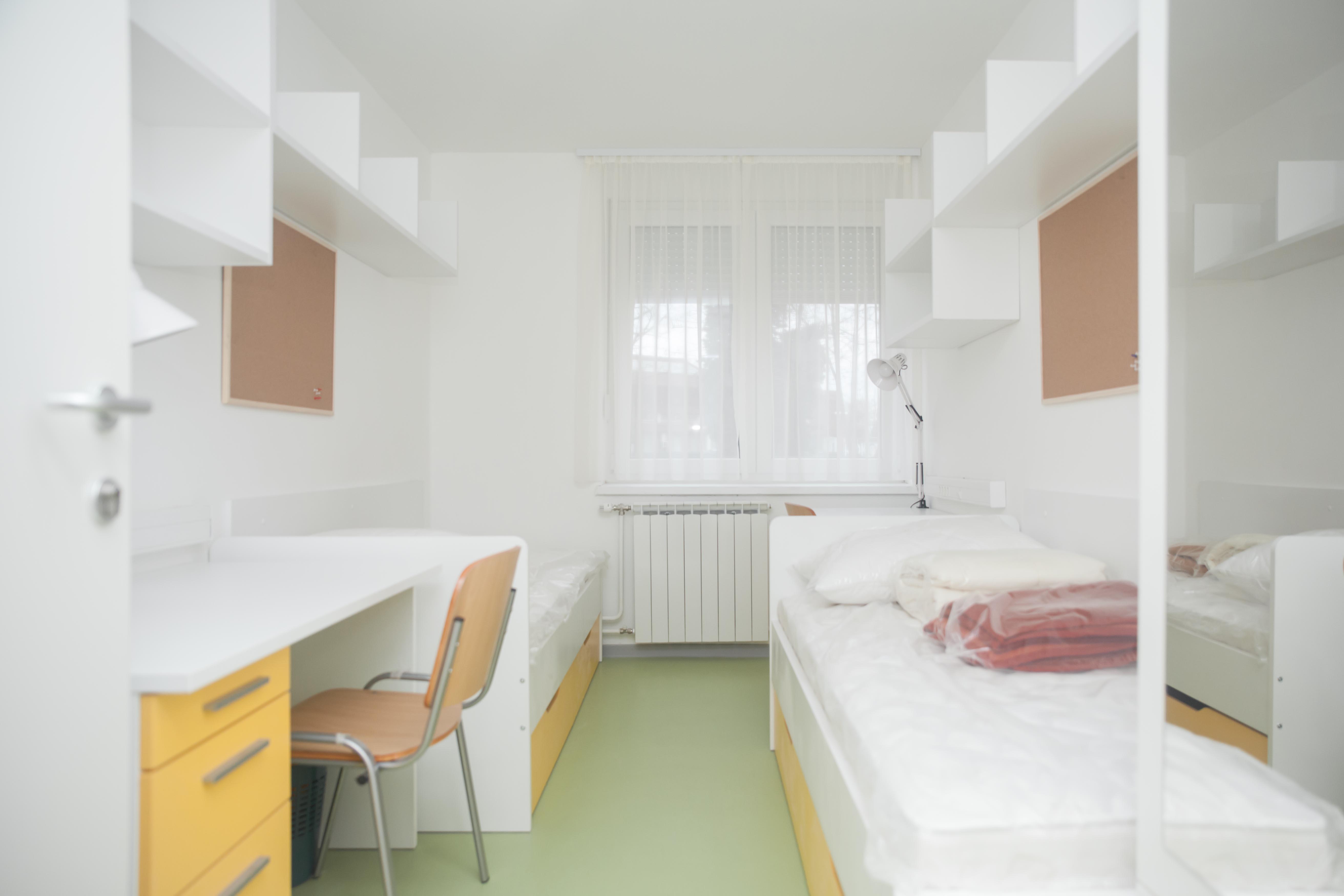 Jednokrevetne sobe za studente sa zdravstvenim teškoćama