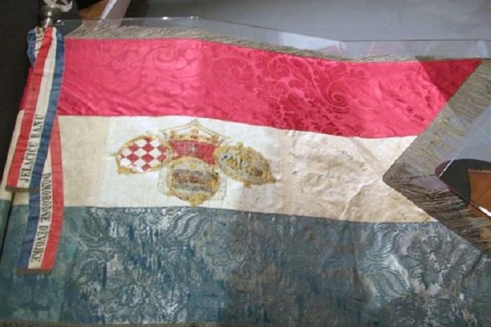 5. lipnja 1848. - Prva upotreba hrvatske trobojnice