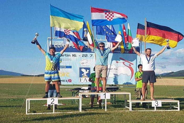 Zlato za Arijana Hucaljuk - europski prvak u F3J modelarskoj kategoriji