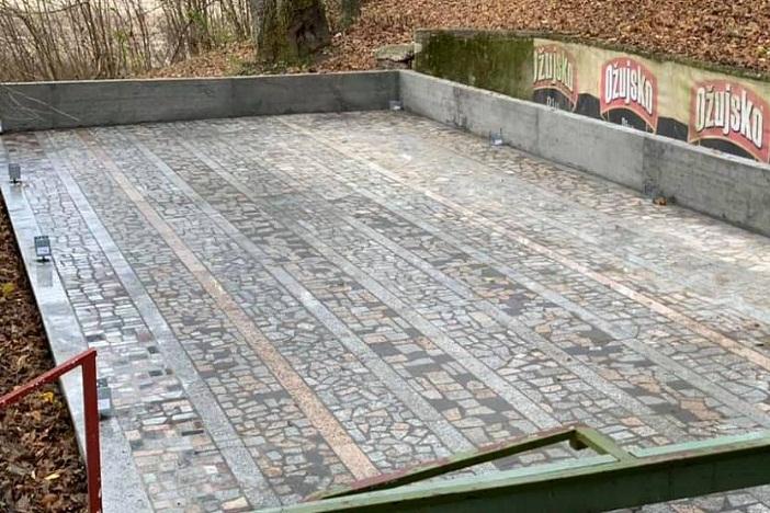 SIBINJ - Gradi se terasa na jezeru Petnja